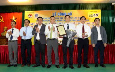 Thái Sơn Bắc là nhà tài trợ giải bóng đá nữ VĐQG năm thứ 8 liên tiếp
