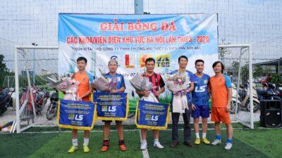 Giao hữu bóng đá với giảng viên khoa điện các trường đại học tại Hà Nội