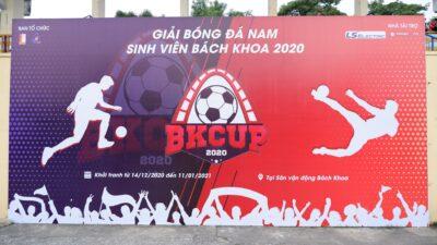 Thái Sơn Bắc tiếp tục đồng hành cùng sinh viên Bách Khoa tại Giải bóng đá nam sinh viên Bách Khoa - BKCUP 2020