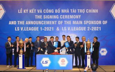 LS Holdings là Nhà tài trợ chính Giải VĐQG và HNQG 2021